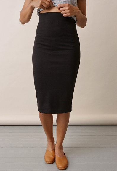 Once-on-never-off pencil skirt - Black - XL (2) - Maternity skirts
