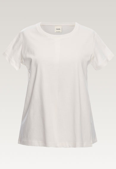 The-shirt, tofu XS (5) - Maternity top / Nursing top