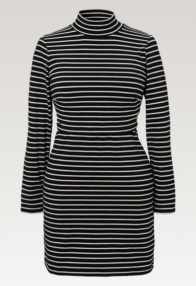 Simone tunika - Stripe black/tofu - S (5) - Gravidklänning / Amningsklänning