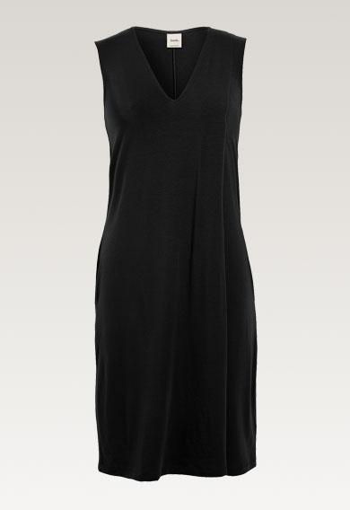 Lil dressblack (6) - Gravidklänning / Amningsklänning