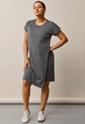 The-shirt dress - Willow green - L - small (1)
