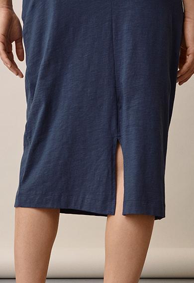 Naima dressthunder blue (5) - Gravidklänning / Amningsklänning