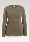 B Warmer sweatshirt - Olive leaf - S - small (6)