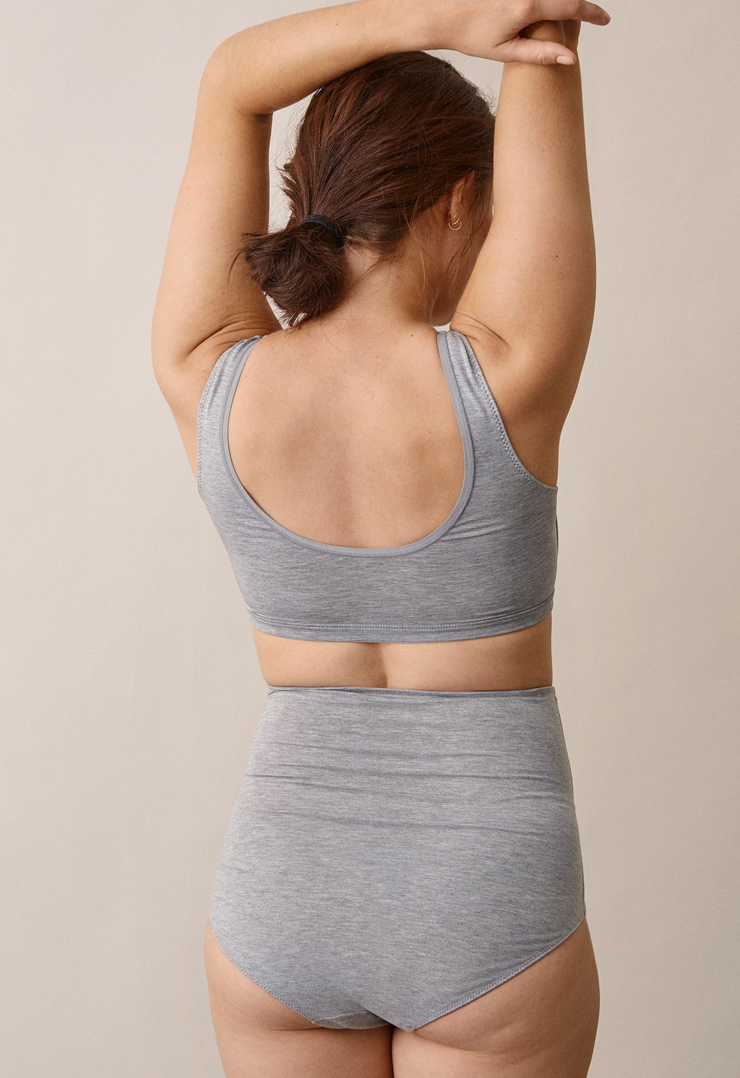 24/7 bragrey melange (3) - Maternity underwear / Nursing underwear