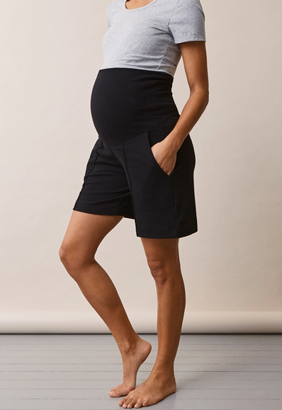 Once-on-never-off shorts - Svart - S (3) - Gravidbyxor