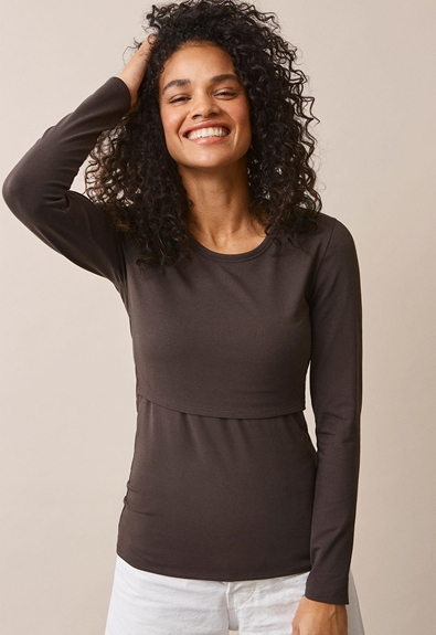 Classic long-sleeved top - Pip - M (2) - Maternity top / Nursing top