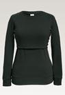 B Warmer sweatshirtdeep green - small (4)