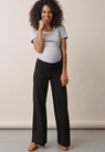 Once-on-never-off wide pants, Svart M - small (1)