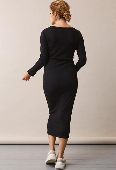 Signe Kleid - Schwarz - M (3) - Umstandskleid / Stillkleid
