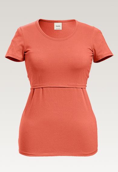 Classic s/s topcoral (4) - Umstandsshirt / Stillshirt