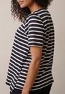 Breton short-sleeve top - Midnight blue/tofu - M - small (3)