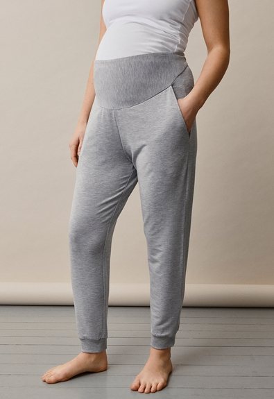 BFF jogger - Grey melange - L (2) - Maternity pants