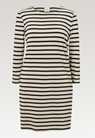 Breton Kleid mit 3/4-Ärmeln - Tofu/Midnight blue - M - small (7)
