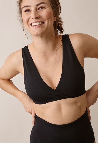24/7 bra, Black M (1) - Maternity underwear / Nursing underwear