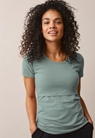 Classic short-sleeved top - Mint - L - small (2)