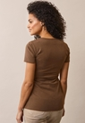 Classic short-sleeved top - Hazelnut - S - small (3)