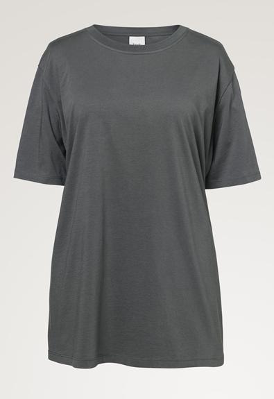 Oversized The-shirt - Willow green - M/L (5) - Umstandsshirt / Stillshirt