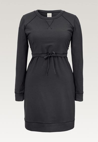 B Warmer dress - Iron - XS (5) - Maternity dress / Nursing dress