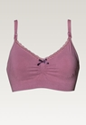 Fast Food Bra - Organic Cotton, Rainy rose XL - small (4)