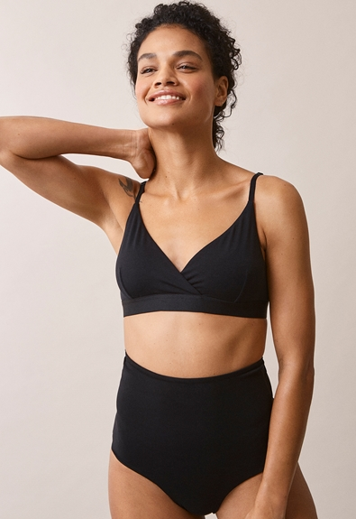 24/7 triangle bra - Black - S (2) - Maternity underwear / Nursing underwear