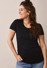 Classic short-sleeved top - Black - XL - small (2)