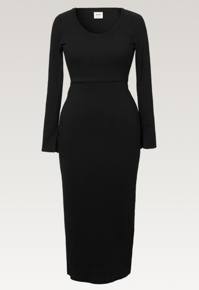 Signe Kleid - Schwarz - M (7) - Umstandskleid / Stillkleid