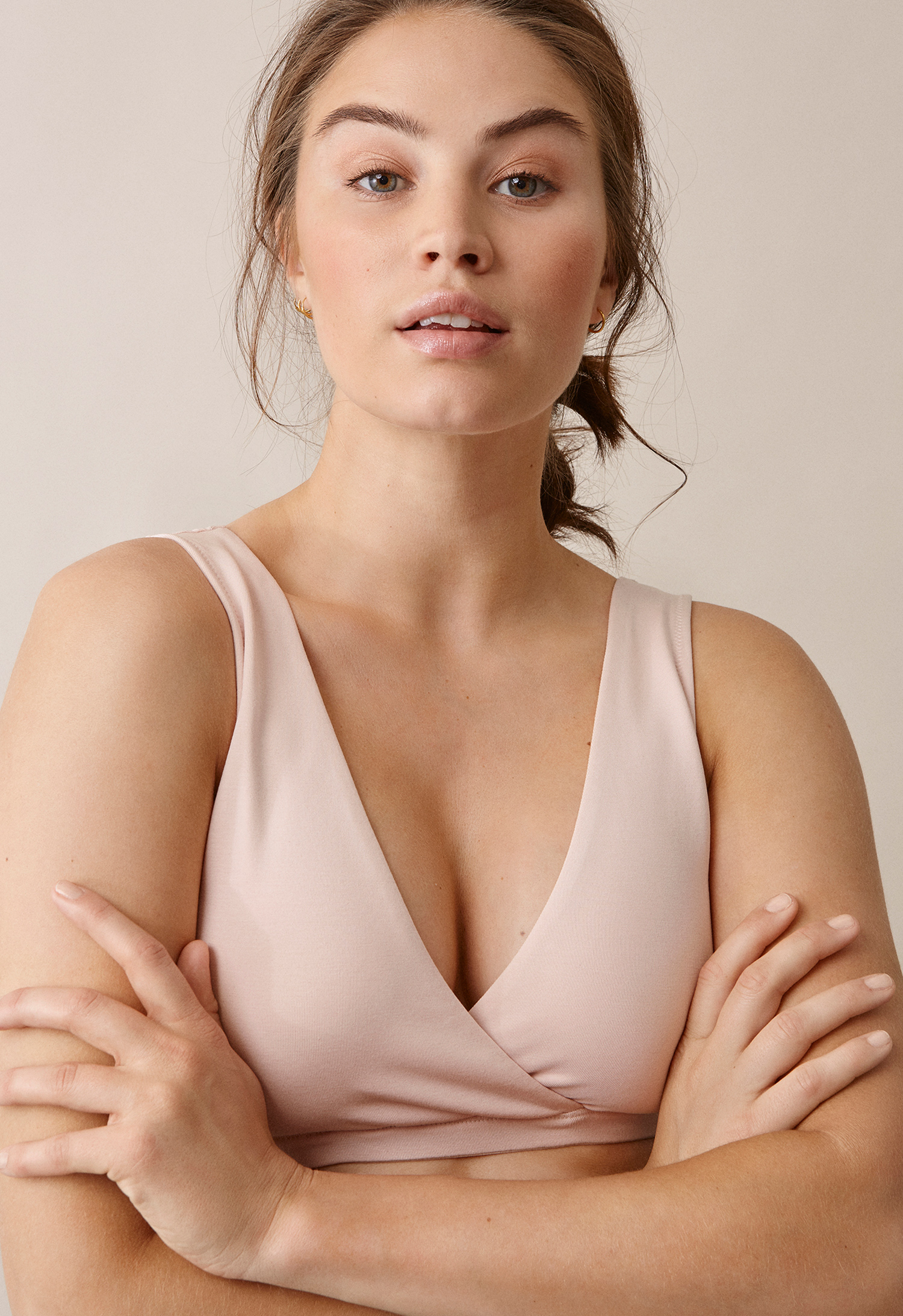 24/7 bra, soft pink XL (1) - Maternity underwear / Nursing underwear