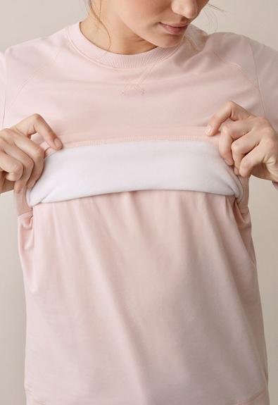 B Warmer sweatshirt - Light pink - L (4) - Gravidtopp / Amningstopp