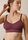Fast Food Bra - Free, dark purple/rainy rose XL - small (7)