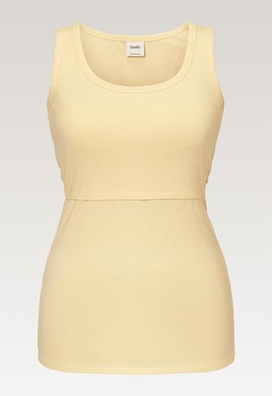 Classic tank top - Vanilla - XL (4) - Maternity singlet / Nursing singlet
