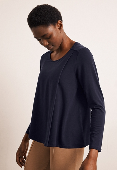 Swagger long-sleeved top