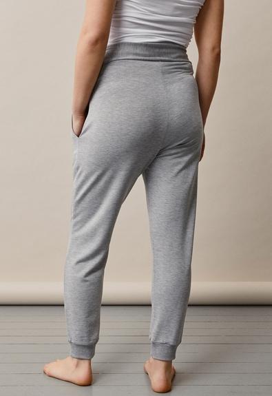 BFF jogger - Grey melange - L (3) - Maternity pants