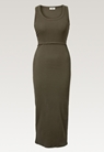 Signe ärmlös klänning - Pine green - S - small (5)