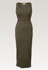 Signe sleeveless dress - Pine green - S - small (5)