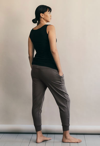 Once-on-never-off easy pants - Magnet - M (2) - Maternity pants