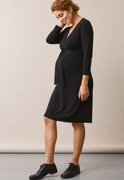 Giselle wrap dress