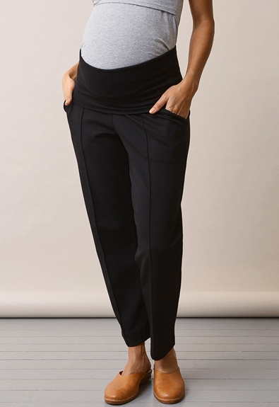 Once-on-never-off slacks - Svart - S (3) - Gravidbyxor