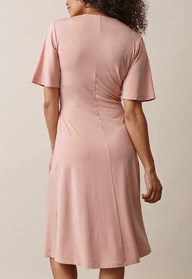 La La dressmisty rose (3) - Maternity dress / Nursing dress