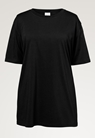 Oversized The-shirt - Schwarz - M/L - small (4)