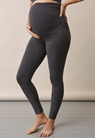 Merino wool leggingsdark grey melange - small (2)
