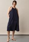 Air halterneck midiklänning - Midnight blue - One size - small (1)