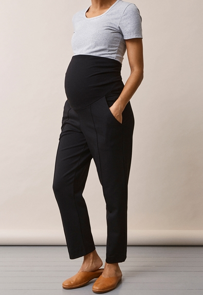 Once-on-never-off slacks - Svart - S (4) - Gravidbyxor