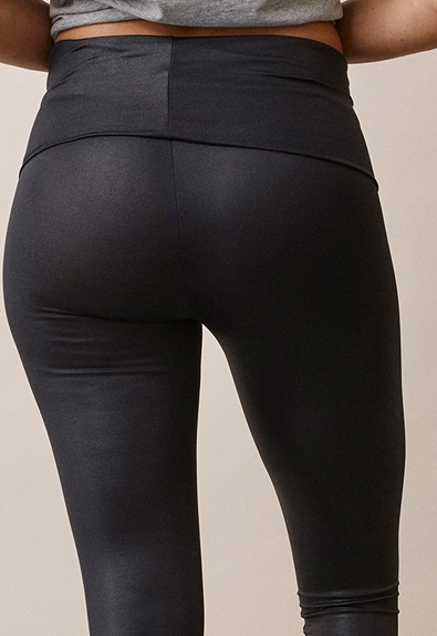 Once-on-never-off glam leggings - Black - L (5) - Maternity pants