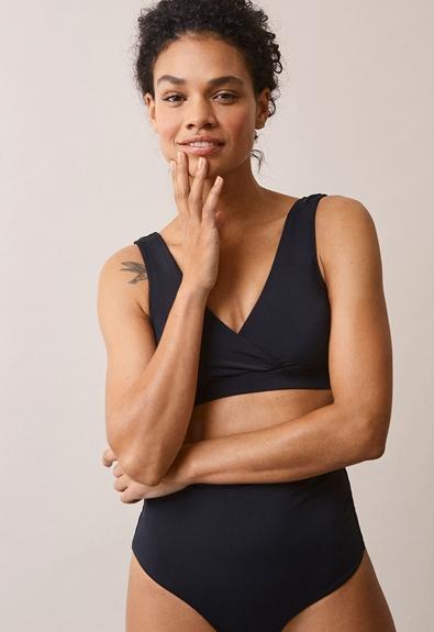 Soft support bikini-trosa - Svart - S (3) - Gravidbadkläder / Amningsbadkläder