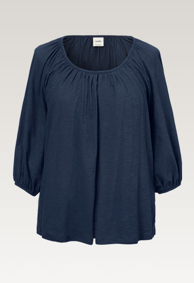 Air blouse - Thunder blue - S (6) - Maternity top / Nursing top