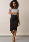 Once-on-never-off pencil skirt - Black - XL - small (1)