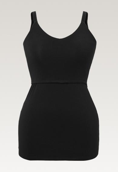 Easy singlet - Black - XL (5) - Maternity singlet / Nursing singlet