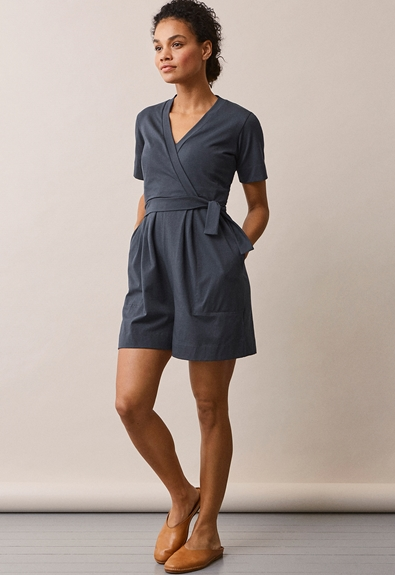 Amelia playsuit - Steel blue - L (2) - Gravid / Amning