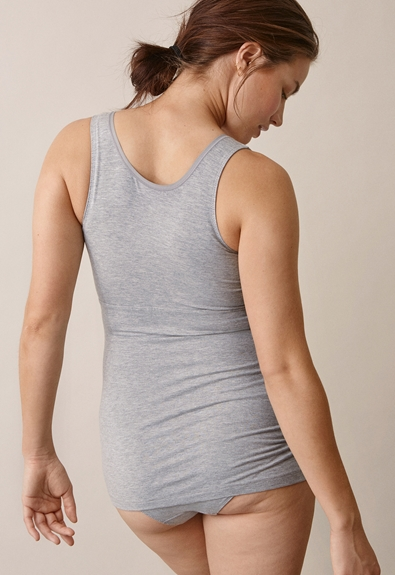 24/7 Top - Grey melange - XL (2) - Umstandstop / Stilltop
