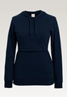 B Warmer hoodie - Midnight blue - S - small (6)